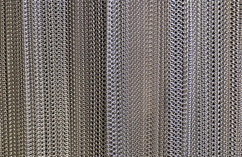 Mesh Curtain Panels : Wire mesh belt industrial and architecture decoration